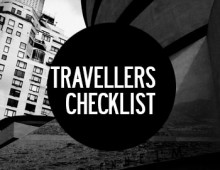 TRAVELLERS CHECKLIST
