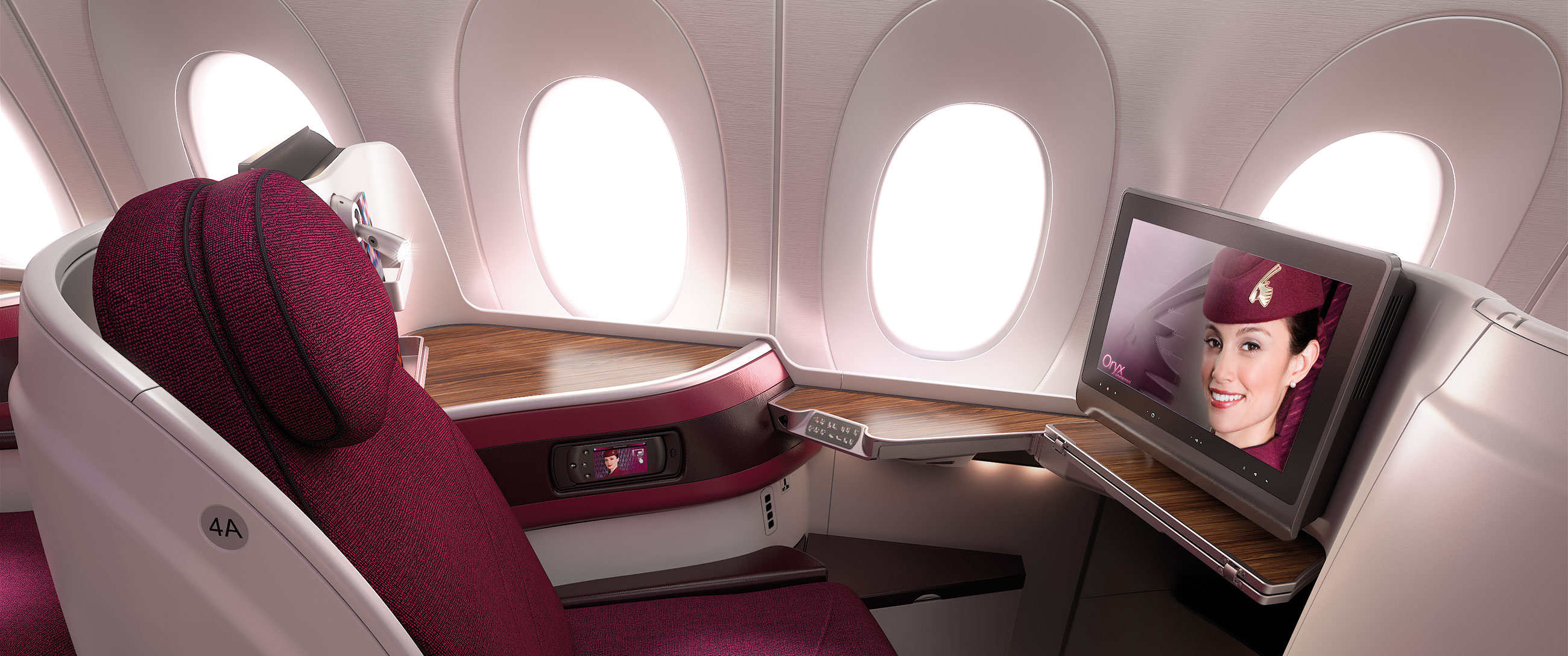 QATAR AIRWAYS WORLD'S BEST BUSINESS CLASS